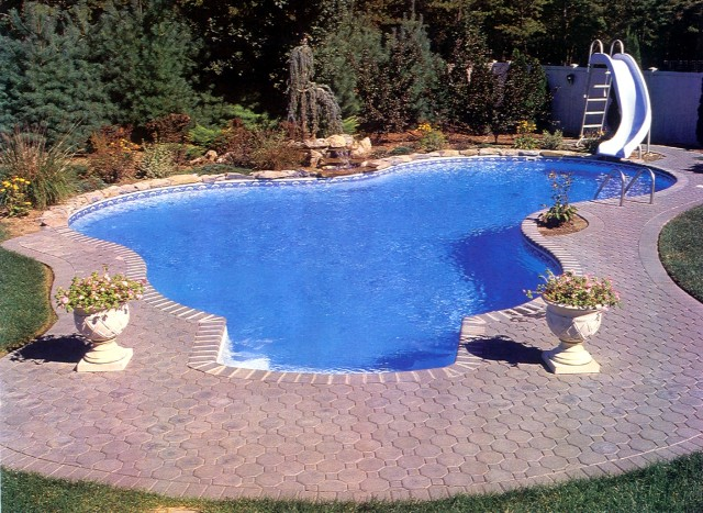 Inground Pool In Mississippi Paradise Pools And Spas